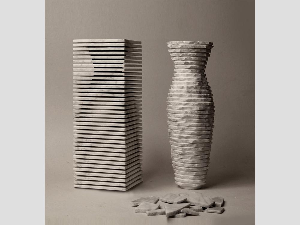 Ваза из мрамора Paolo Ulian