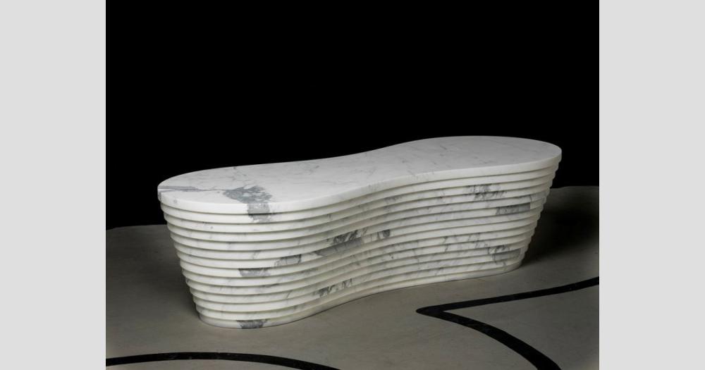 Дизайнерские предметы из мрамора