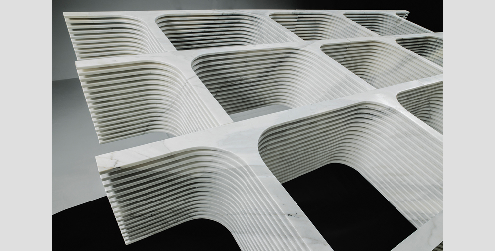 Дизайнерские предметы из мрамора Paolo Ulian