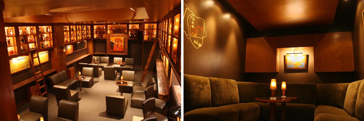 Дизайн VIP комнаты в баре