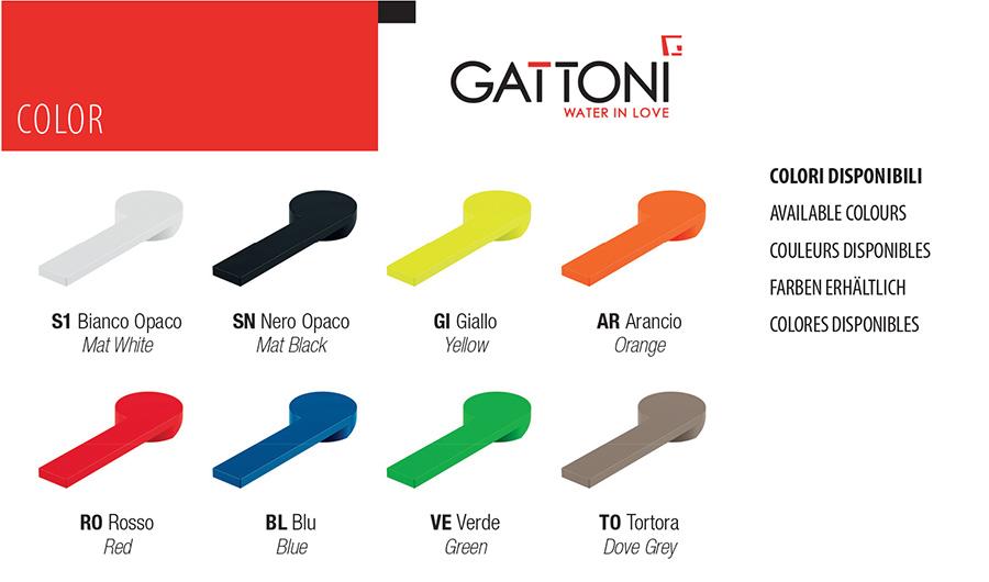 Дизайн смесители от Gattoni