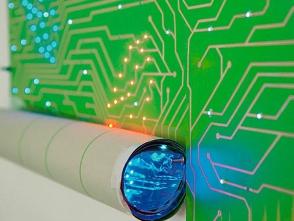 Обои со светодиодами дизайн Ingo Maurer