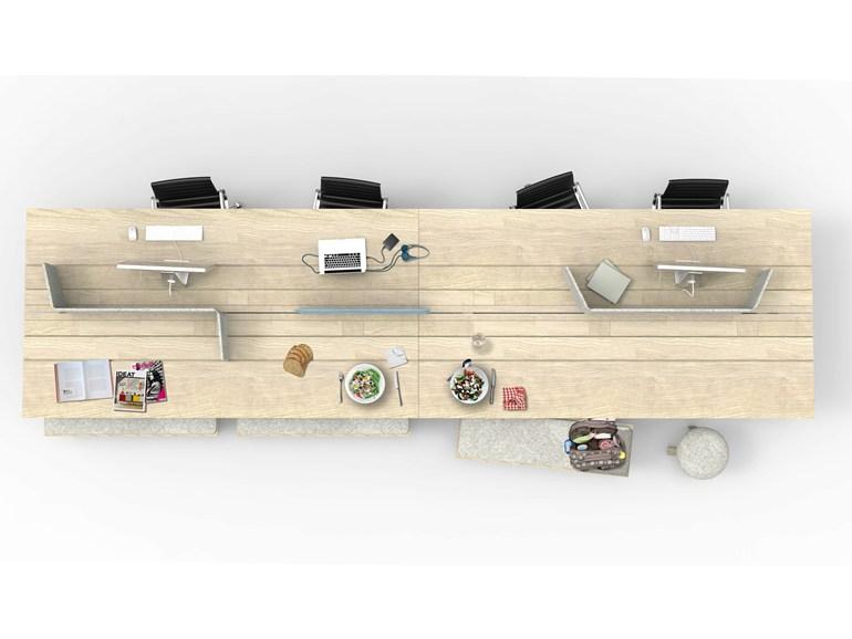 Письменный стол, дизайн Alain Gilles
