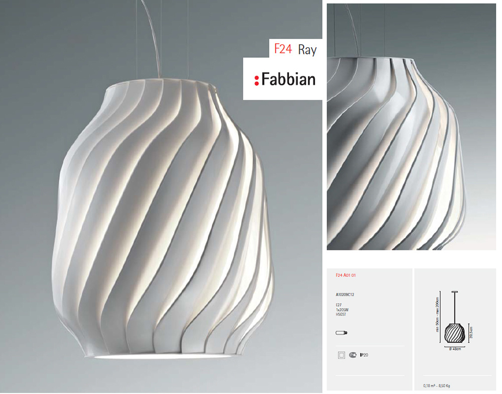 Люстра Fabbian F24 Ray