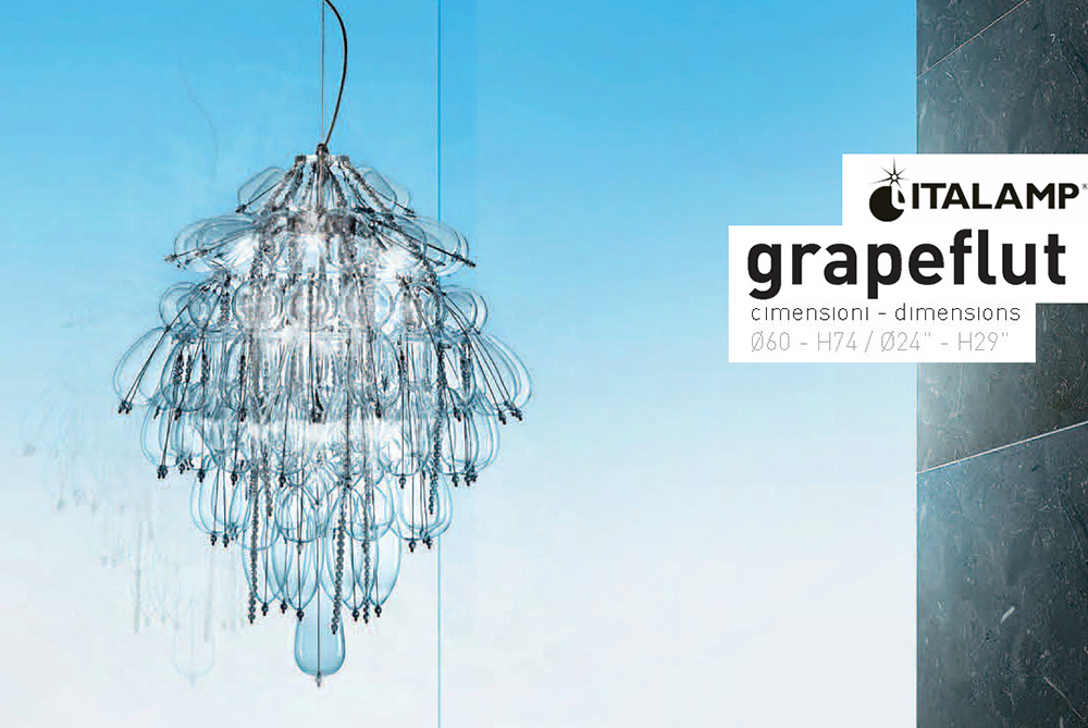 Люстра Italamp Grapeflut