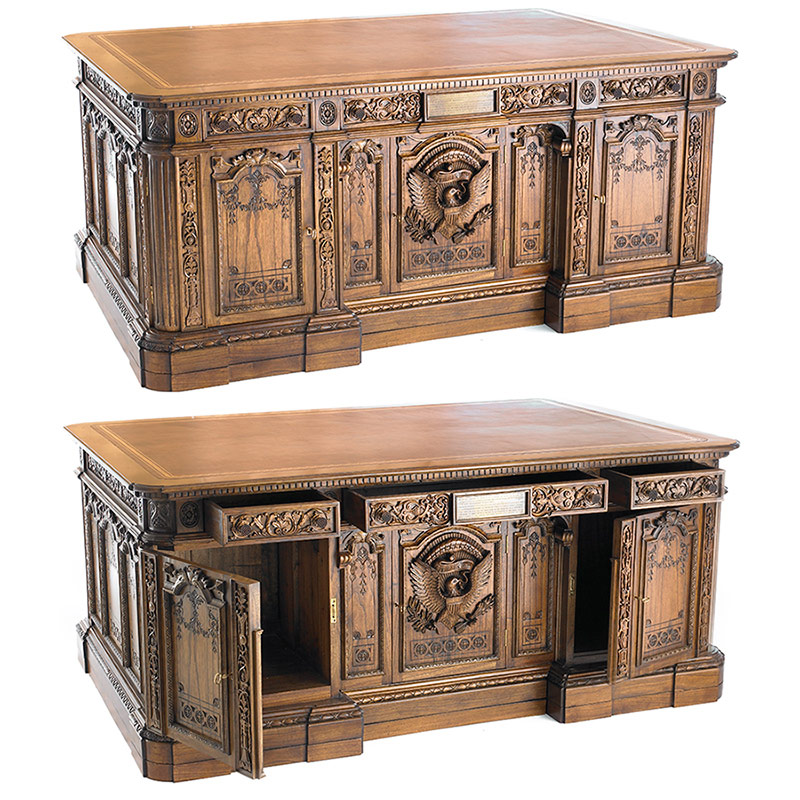 Мебель для презедента общий вид(Resolute desk)