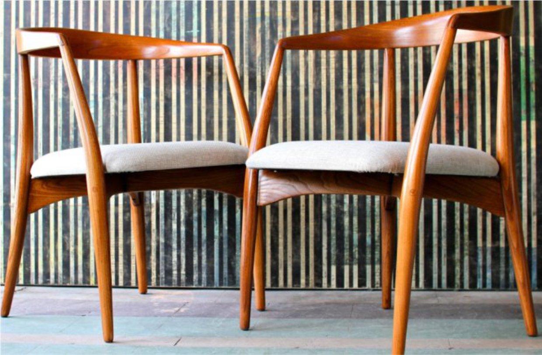мебель из тика в стиле Датский модерн