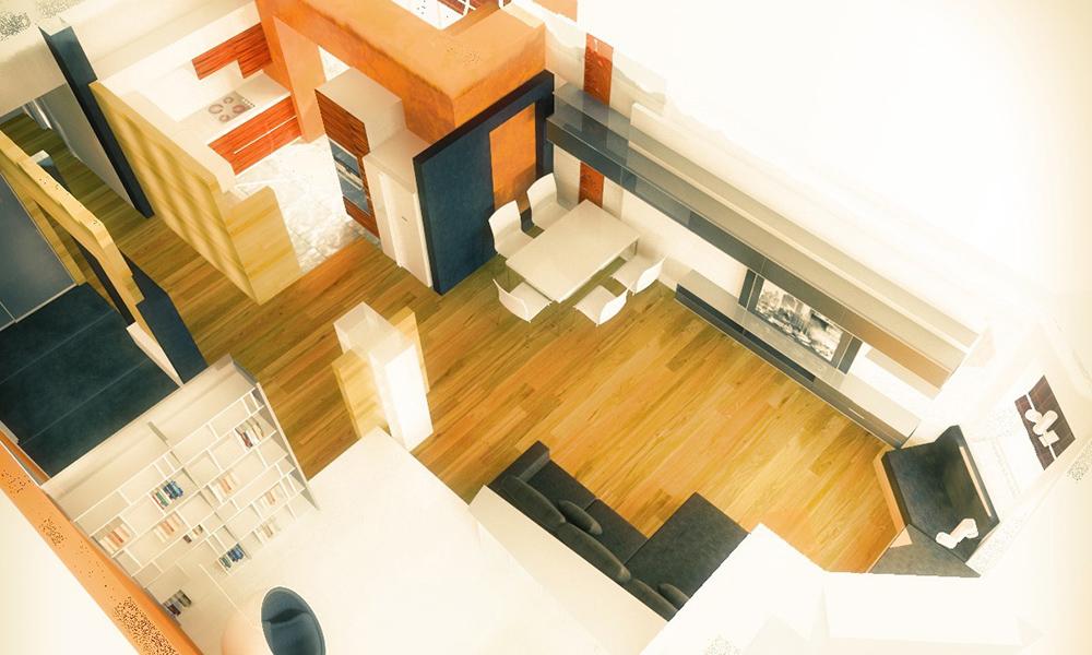 Дизайн-проект квартиры в ЖК Париж