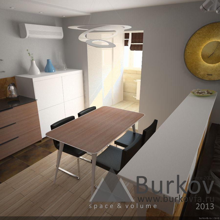 Дизайн квартиры в новом доме