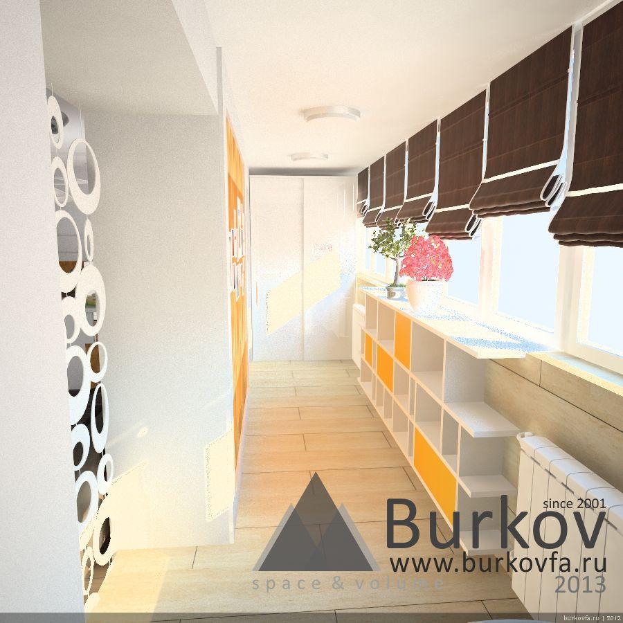 Новостройка - дизайн комнаты