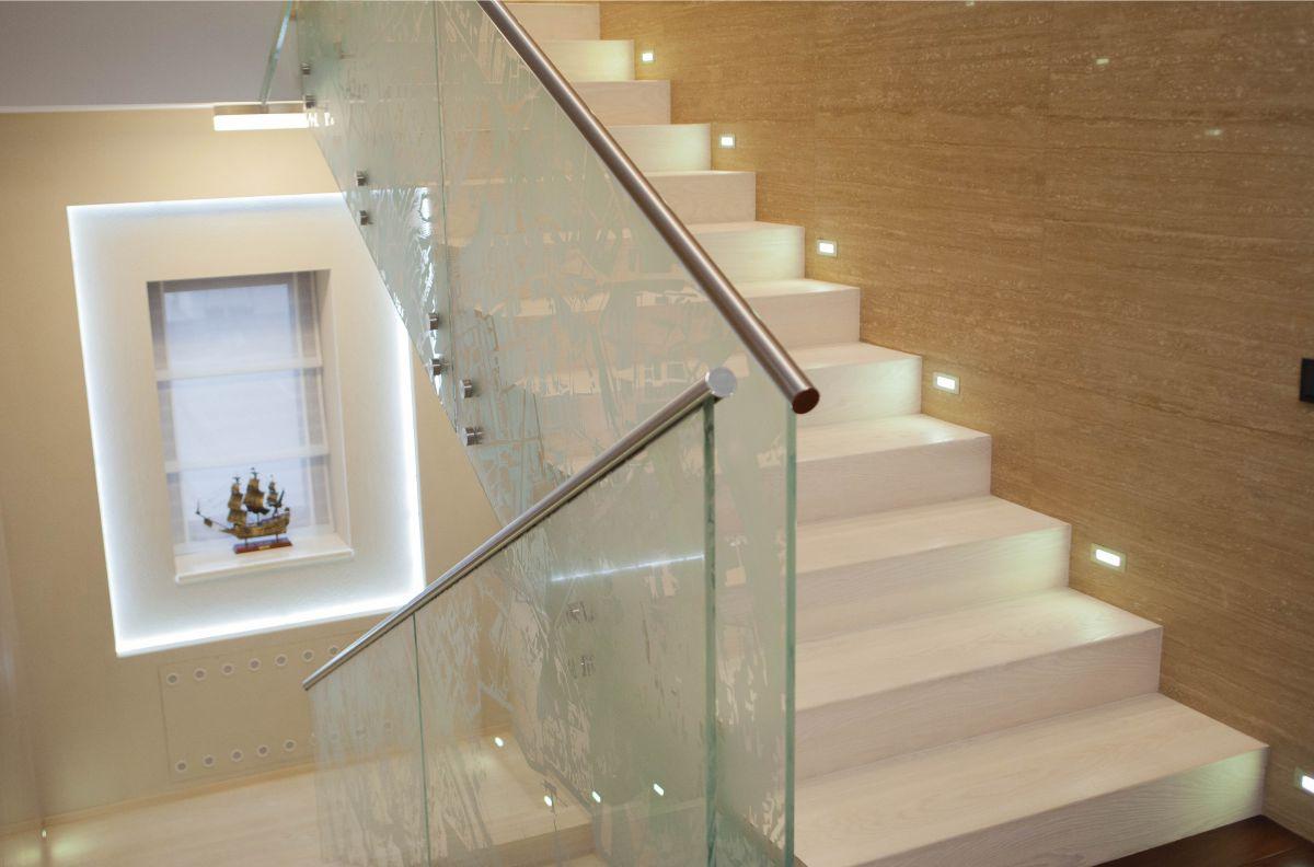 дизайн лестницы в частном доме