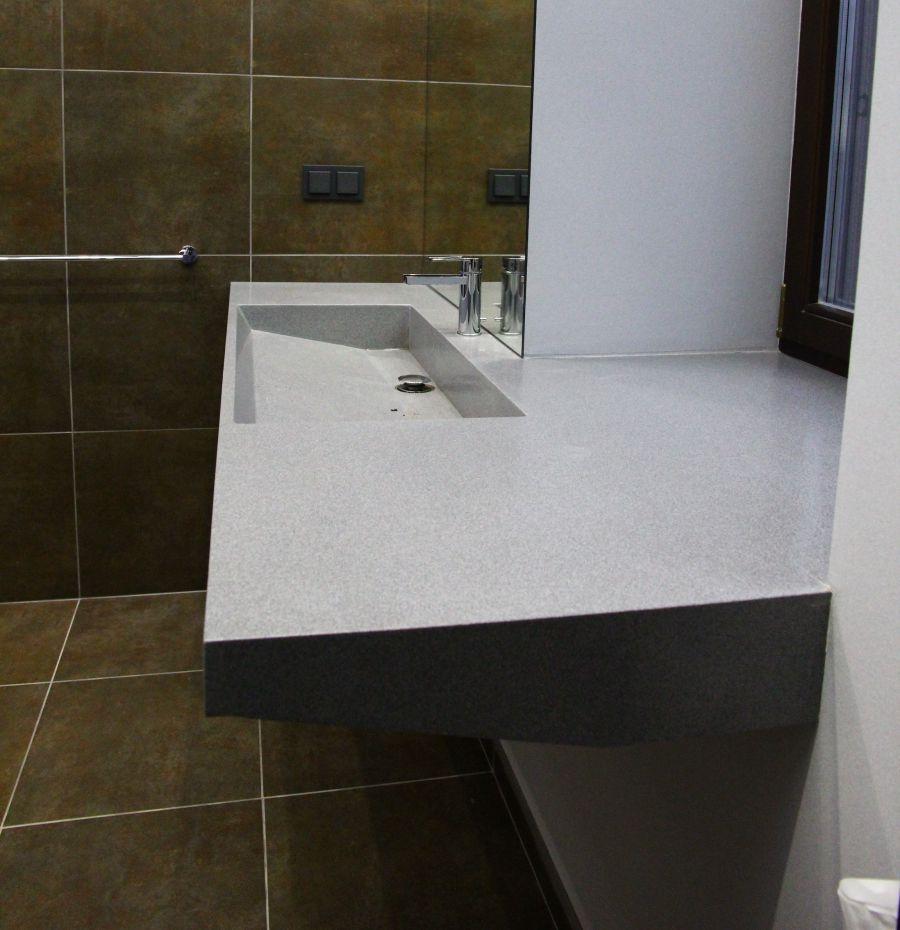 Раковина из искуственного камня для ванной
