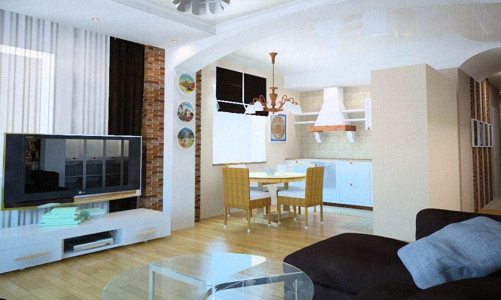 проект квартиры в жк радужный