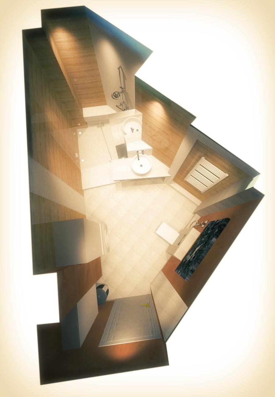 проектирование ванной комнаты