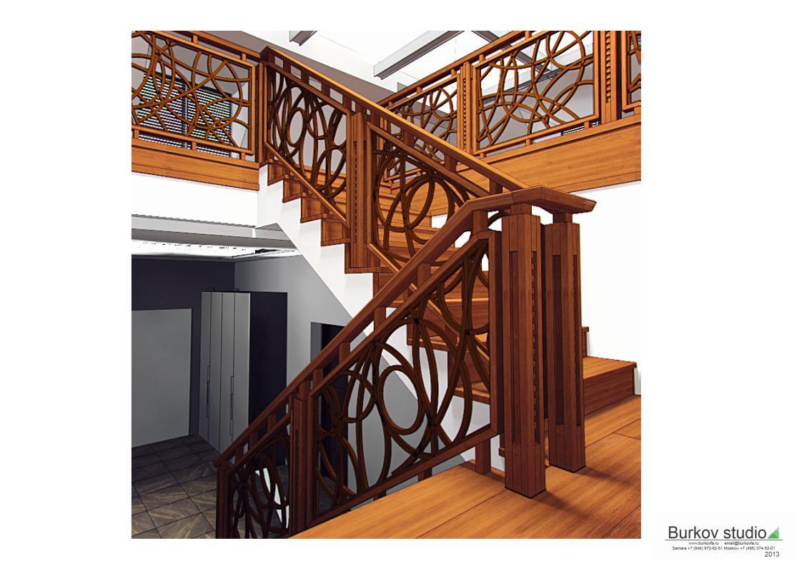 Лестница дизайн-проект