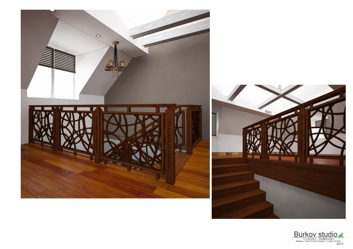 дизайн-проект лестницы