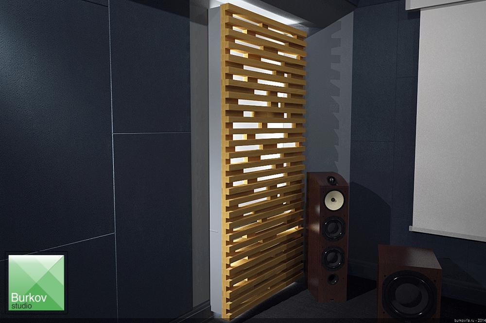дизайн решетки для радиатора