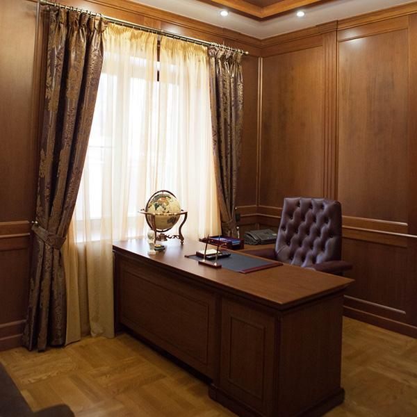 дизайн-проект кабинета в Самаре и Москве