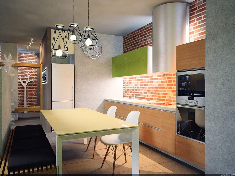 Лофт интерьер - мебель и аксуссуары