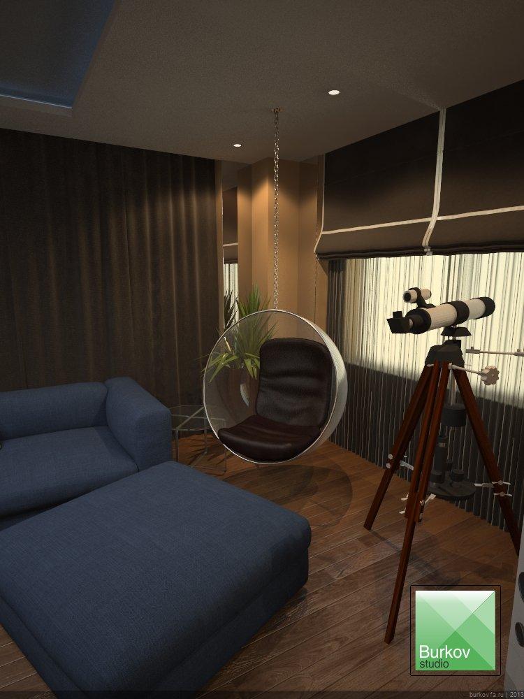 Подвесное кресло BUBBLE в интерьере