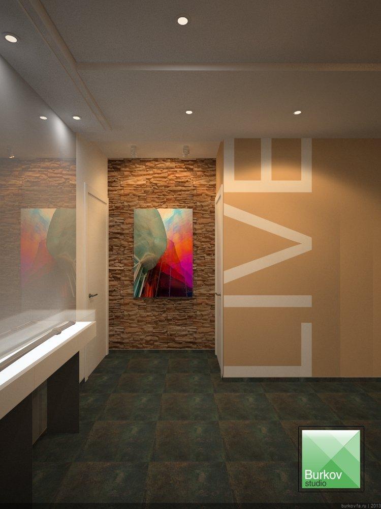 Холл в квартире студии
