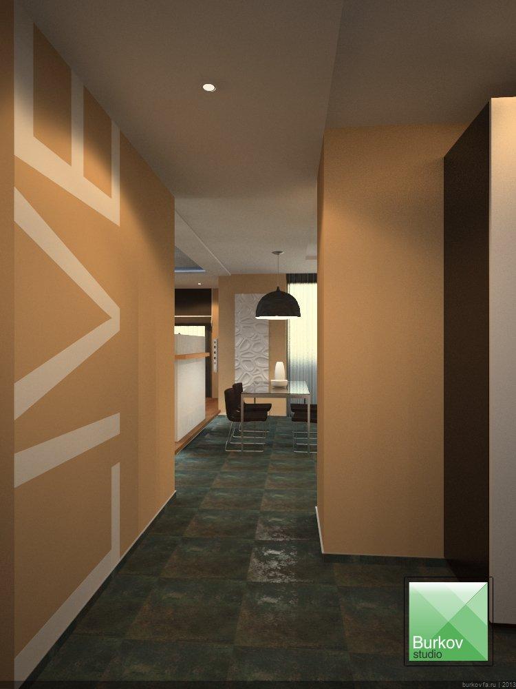 Дизайн-проект квартиры студии в центре