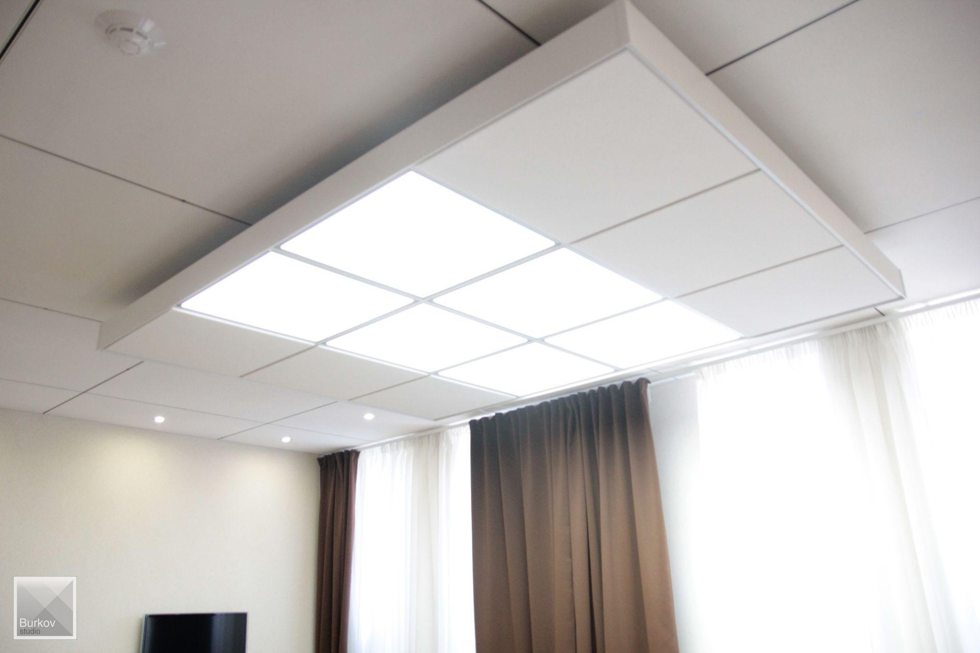 фото подвесного потолка по дизайн-проекту