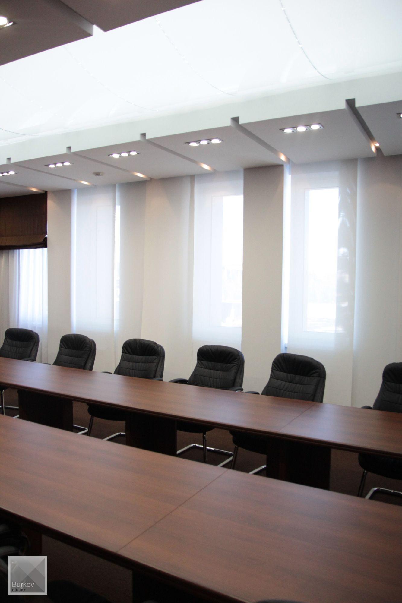 Зал совещаний, дизайн потолка