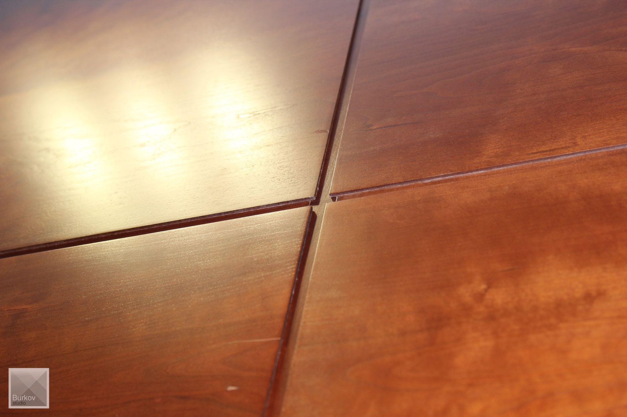 Зал совещаний, отделочный материал стен