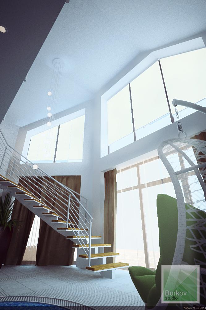 второй свет и лестница
