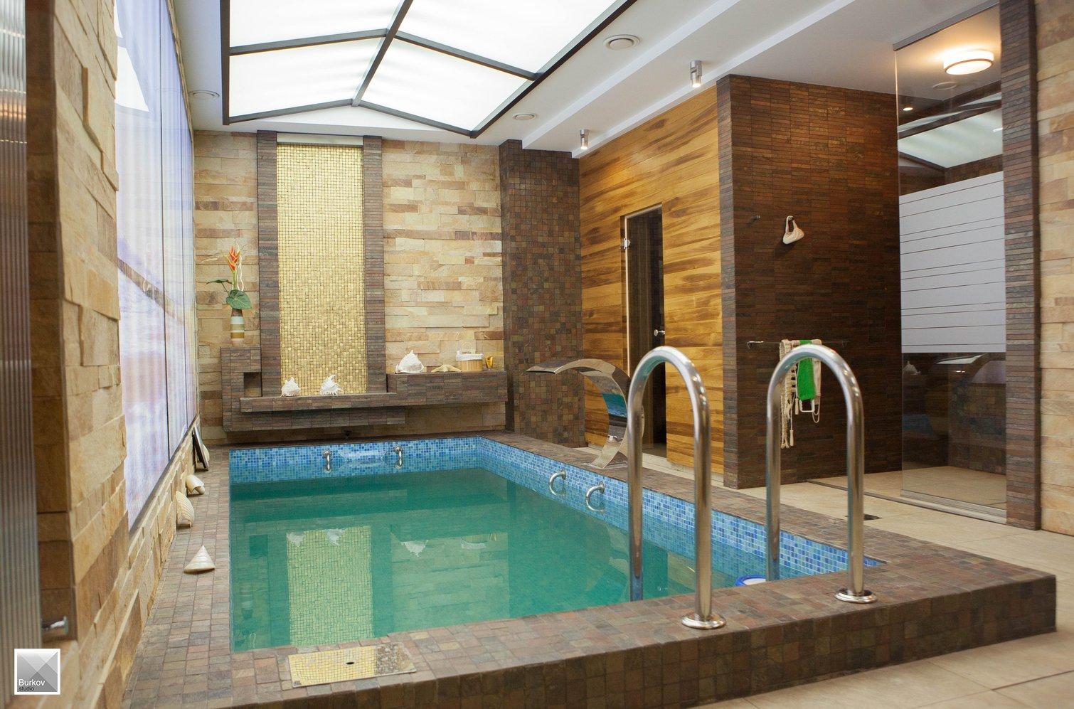 Фото бассейна в частном доме