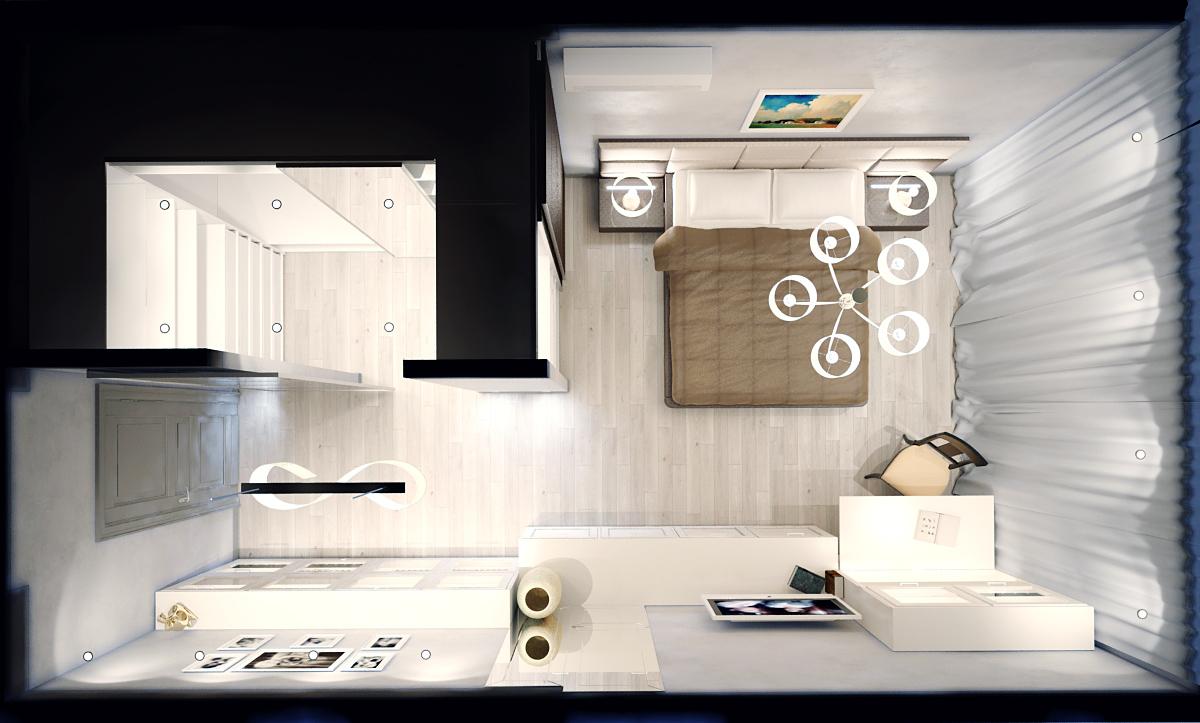 Спальня дизайн-проект