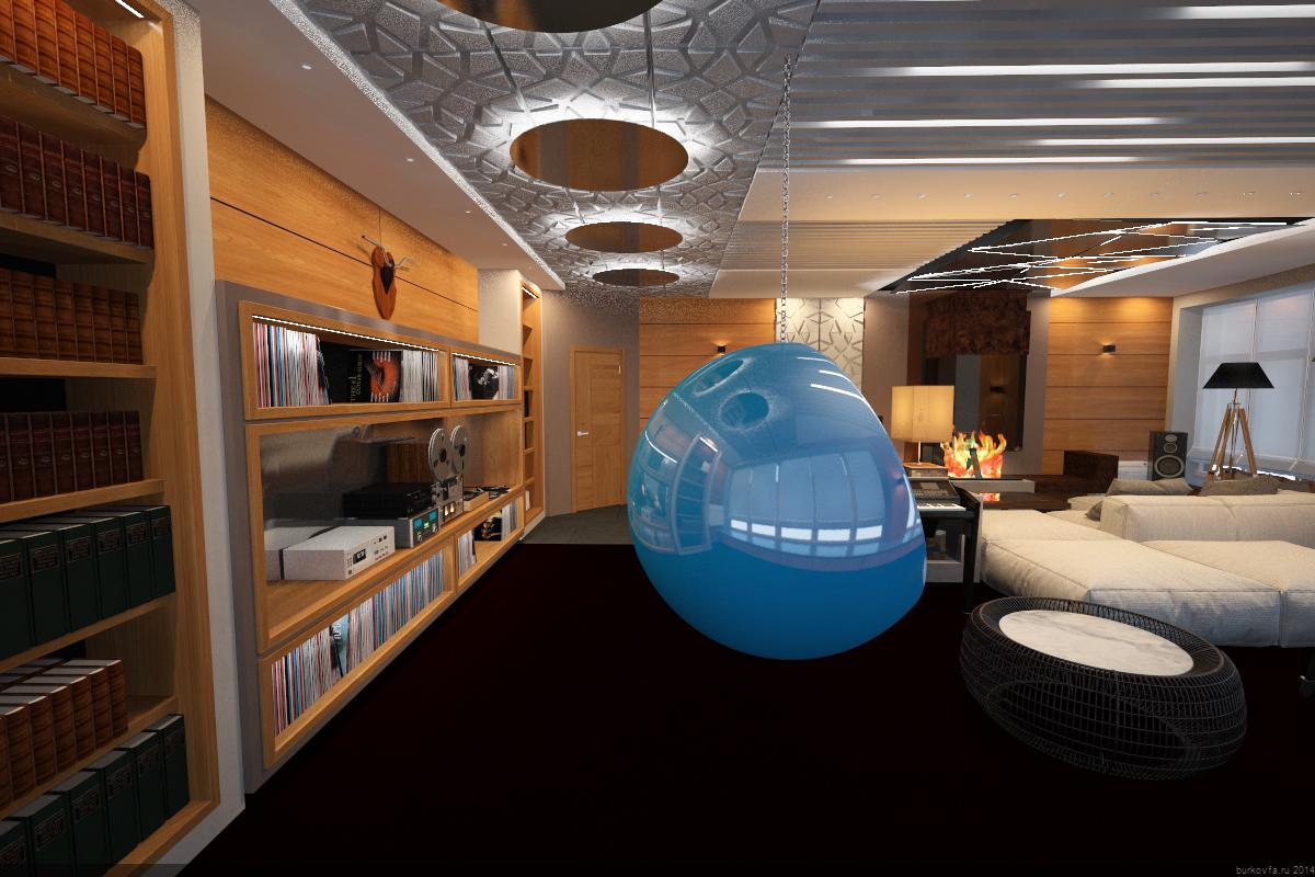 Комната отдыха дизайн-проект