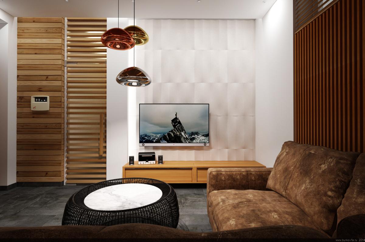 Сауна и Комната отдыха ТВ зона