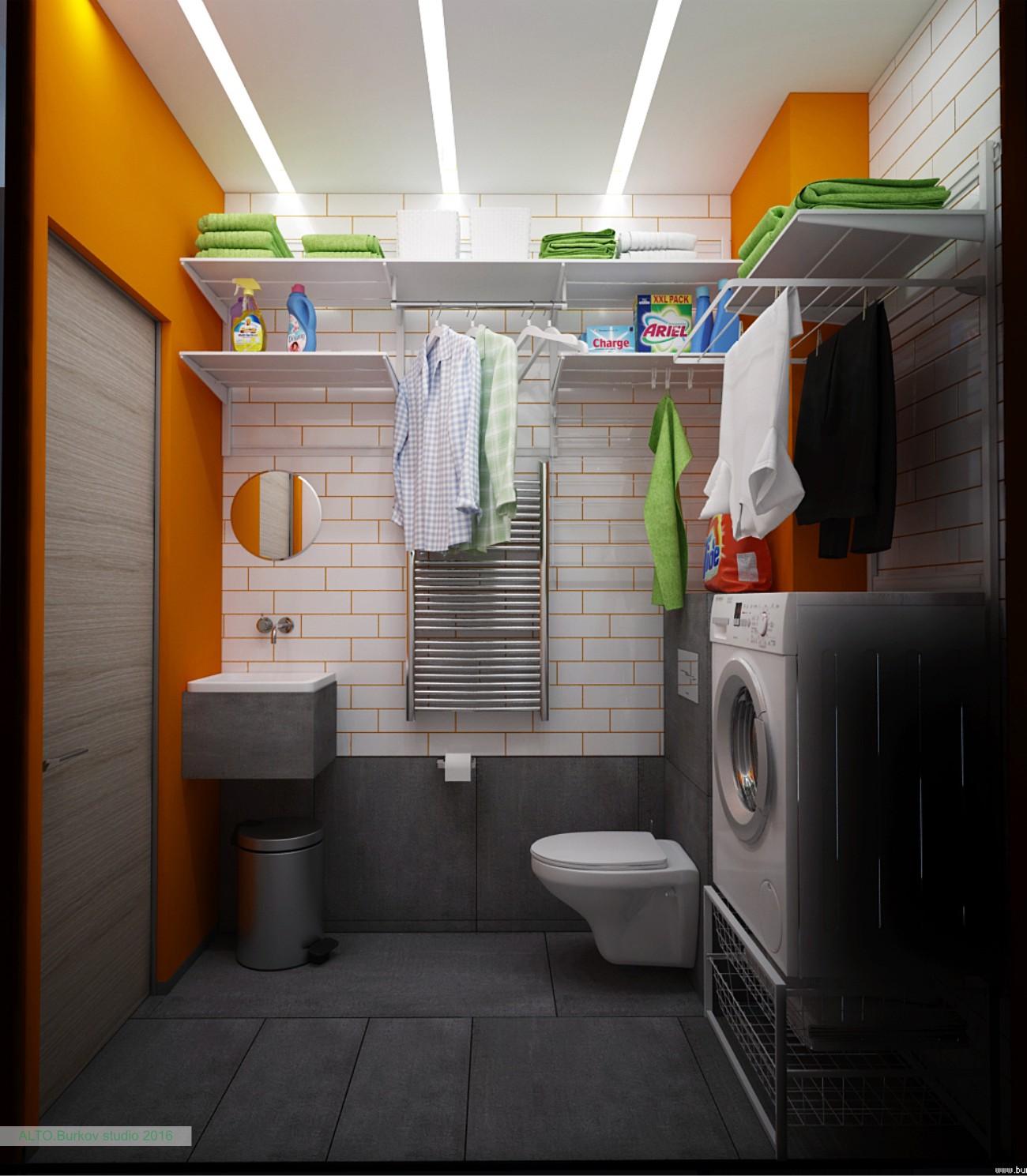 прачечная комната в квартире
