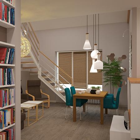дизайн-проект с мебелью из IKEA