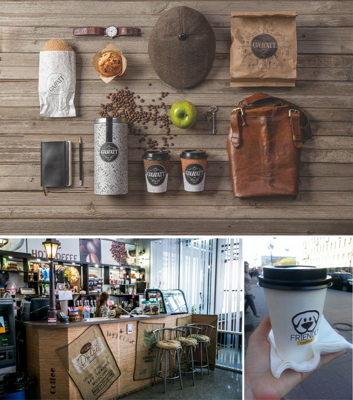 дизайн лофт кофейни