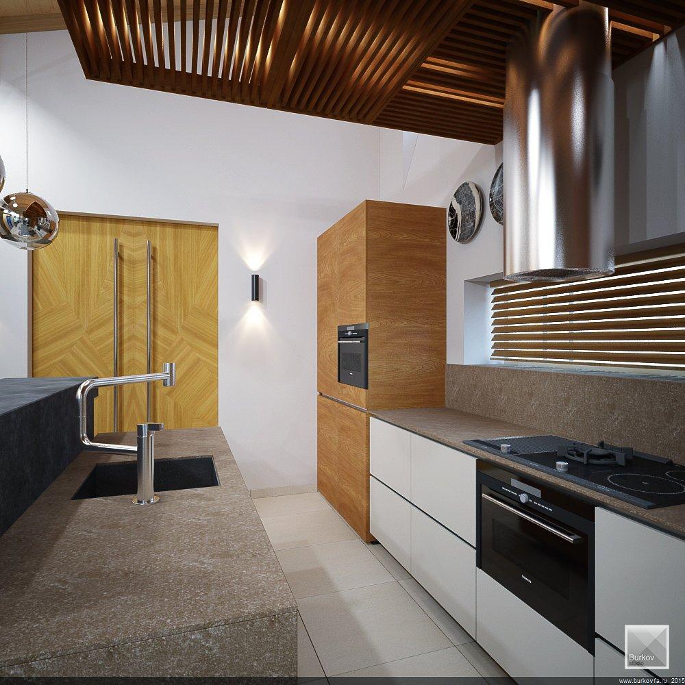 Функциональная кухня. Рабочая поверхность