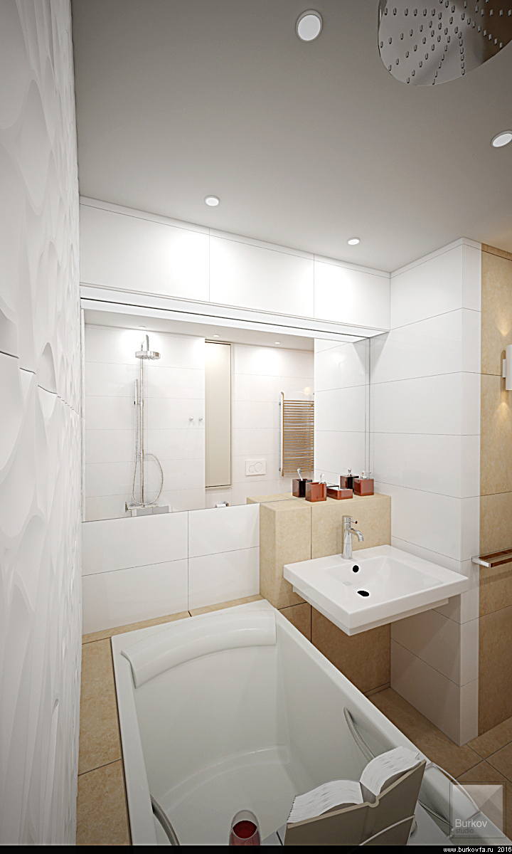 встроенная ванная