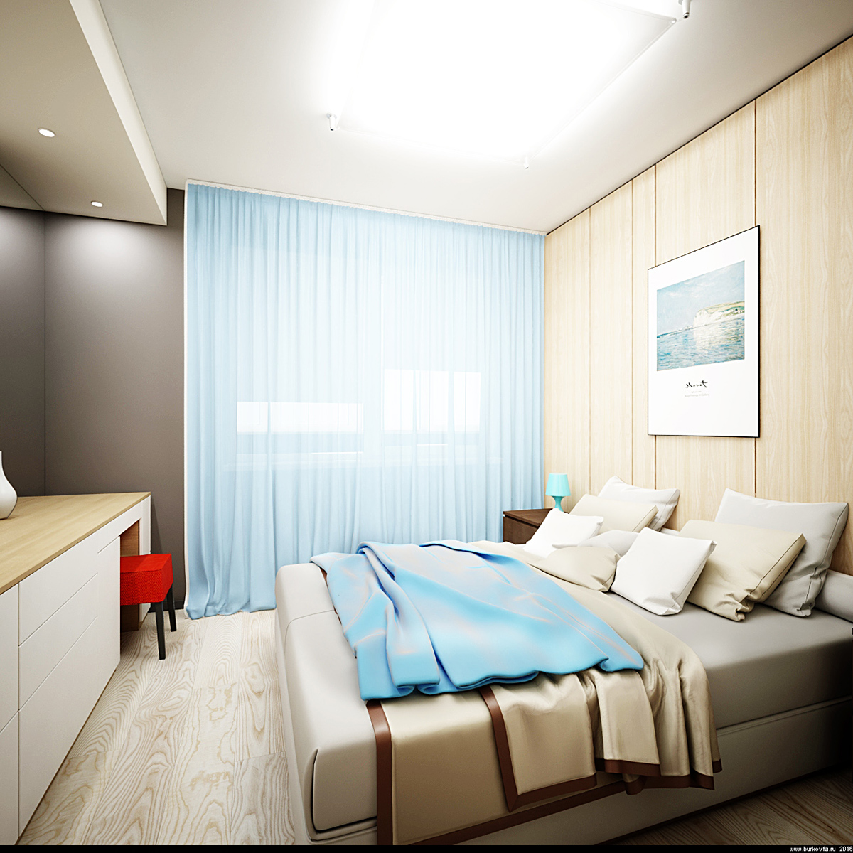 бюджетный дизайн спальни