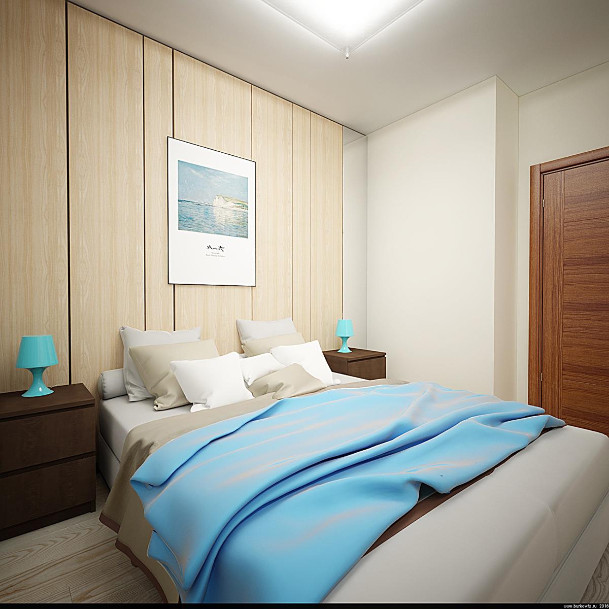 бюджетный интерьер спальни