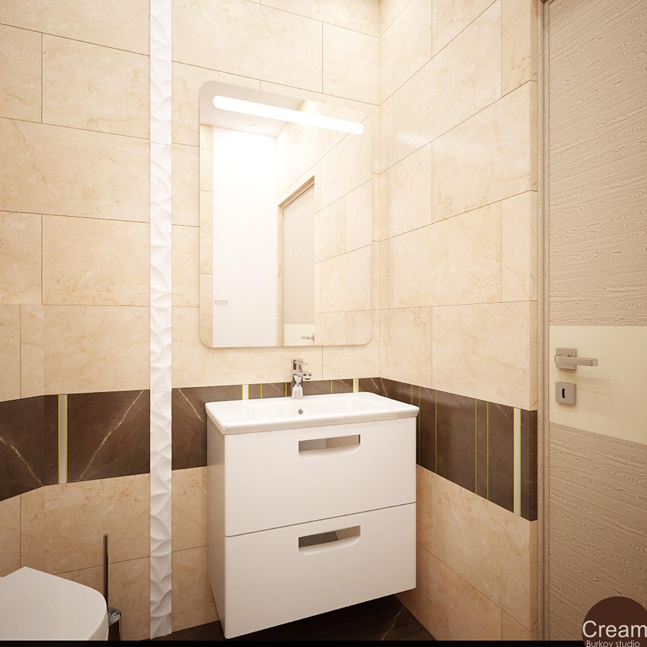 ванная CREAM