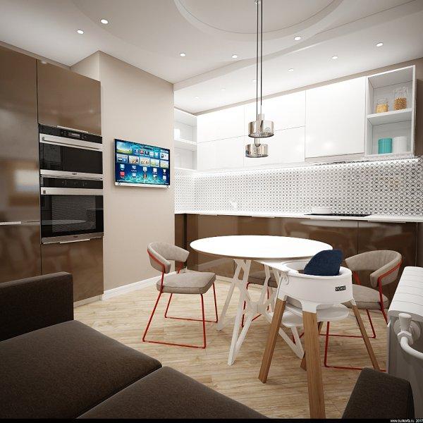 проект интерьера небольшой квартиры