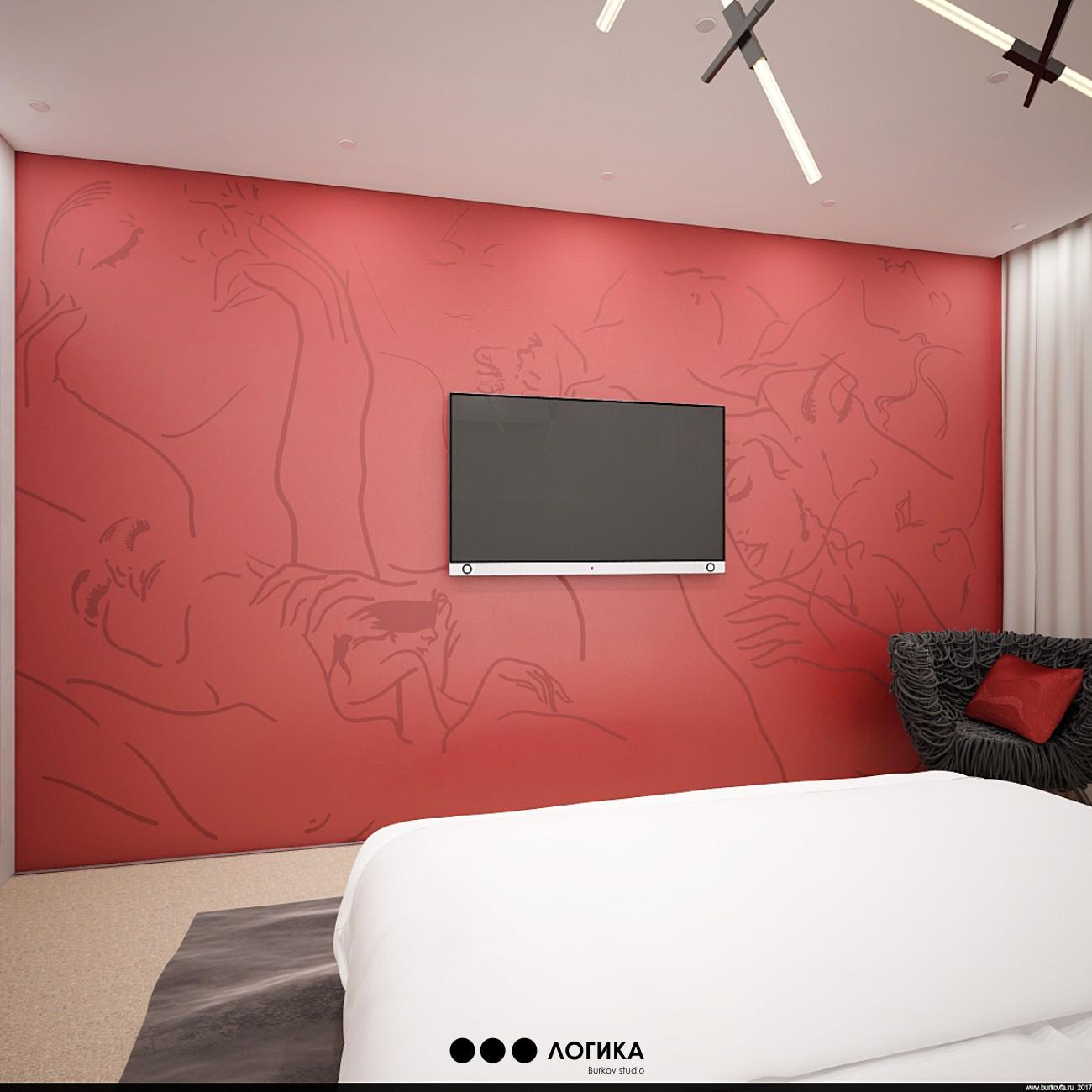 интерьер спальни на тему секса