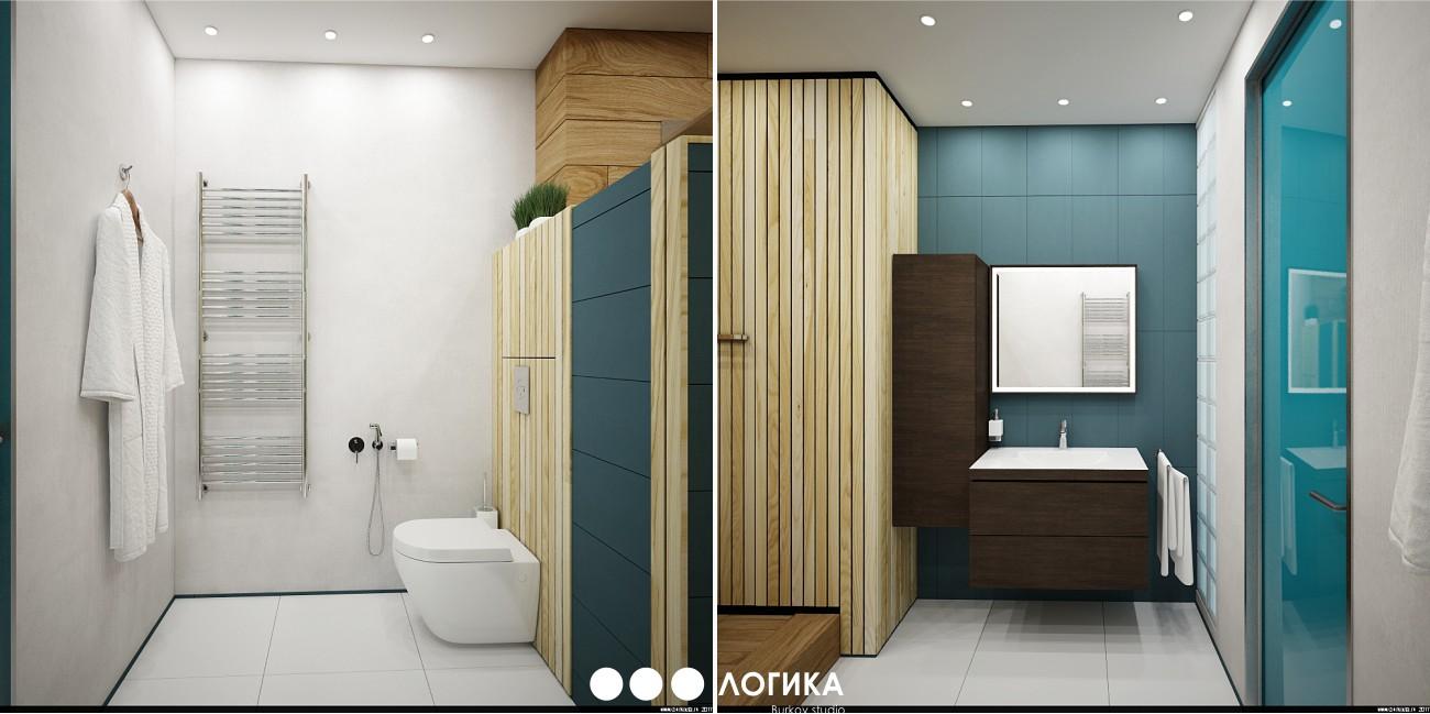 ванная по дизайн-проекту