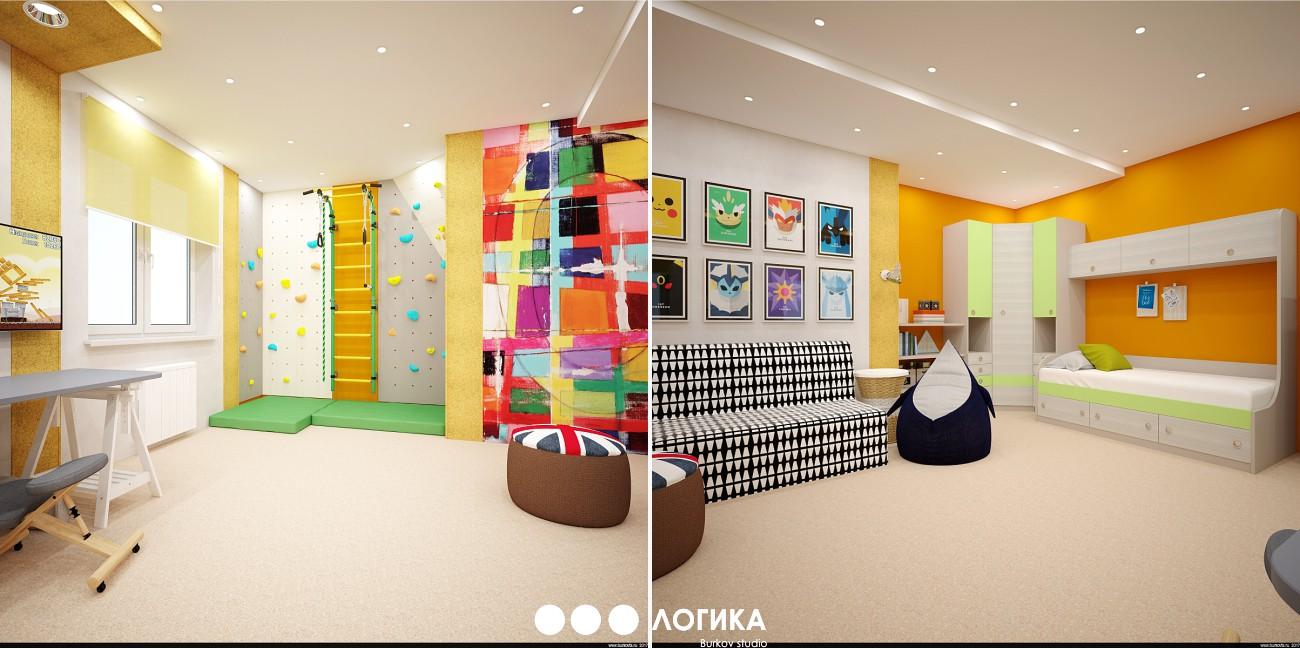 дизайн десткой комнаты