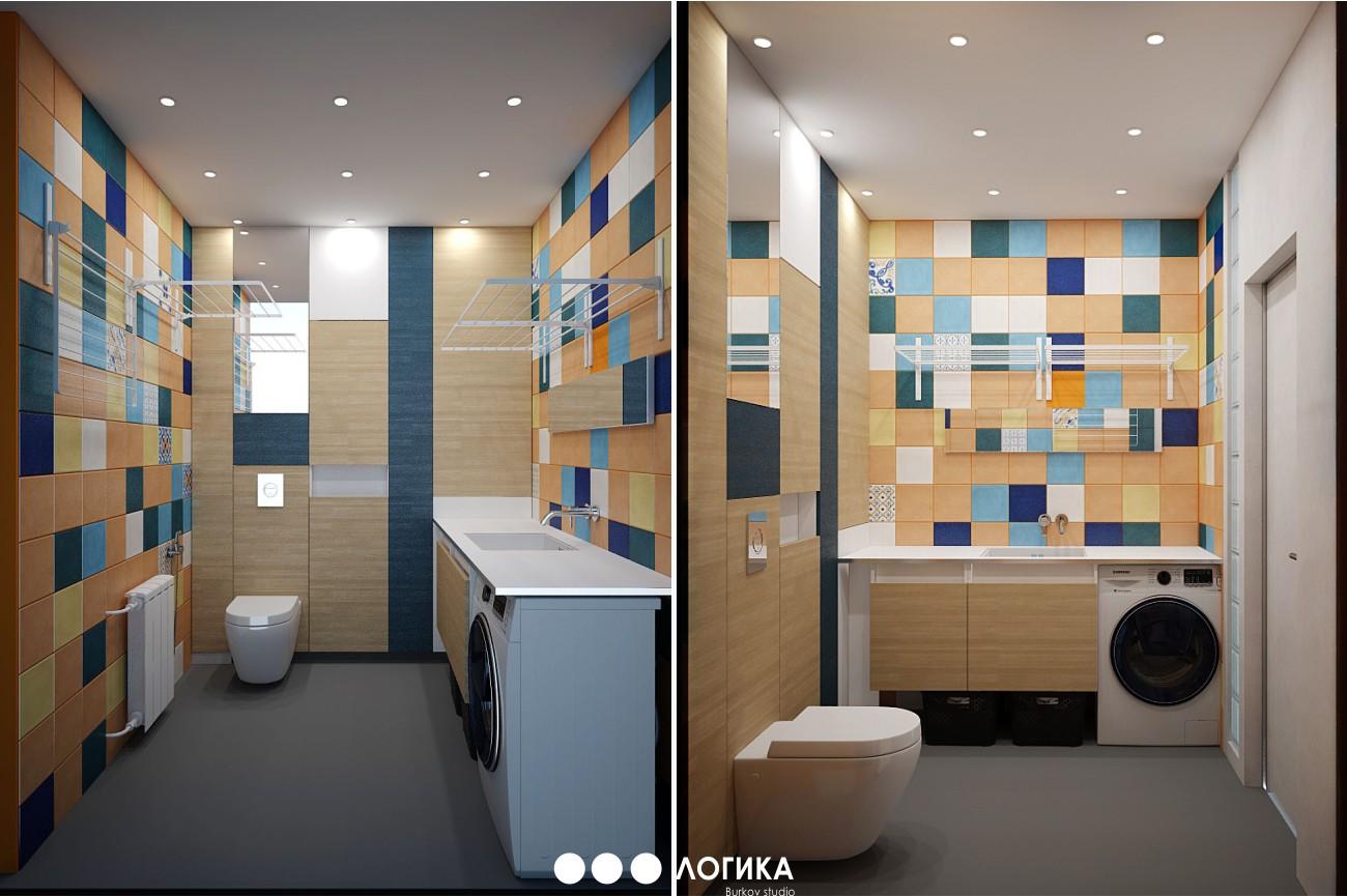 прачечная комната дизайн-проект
