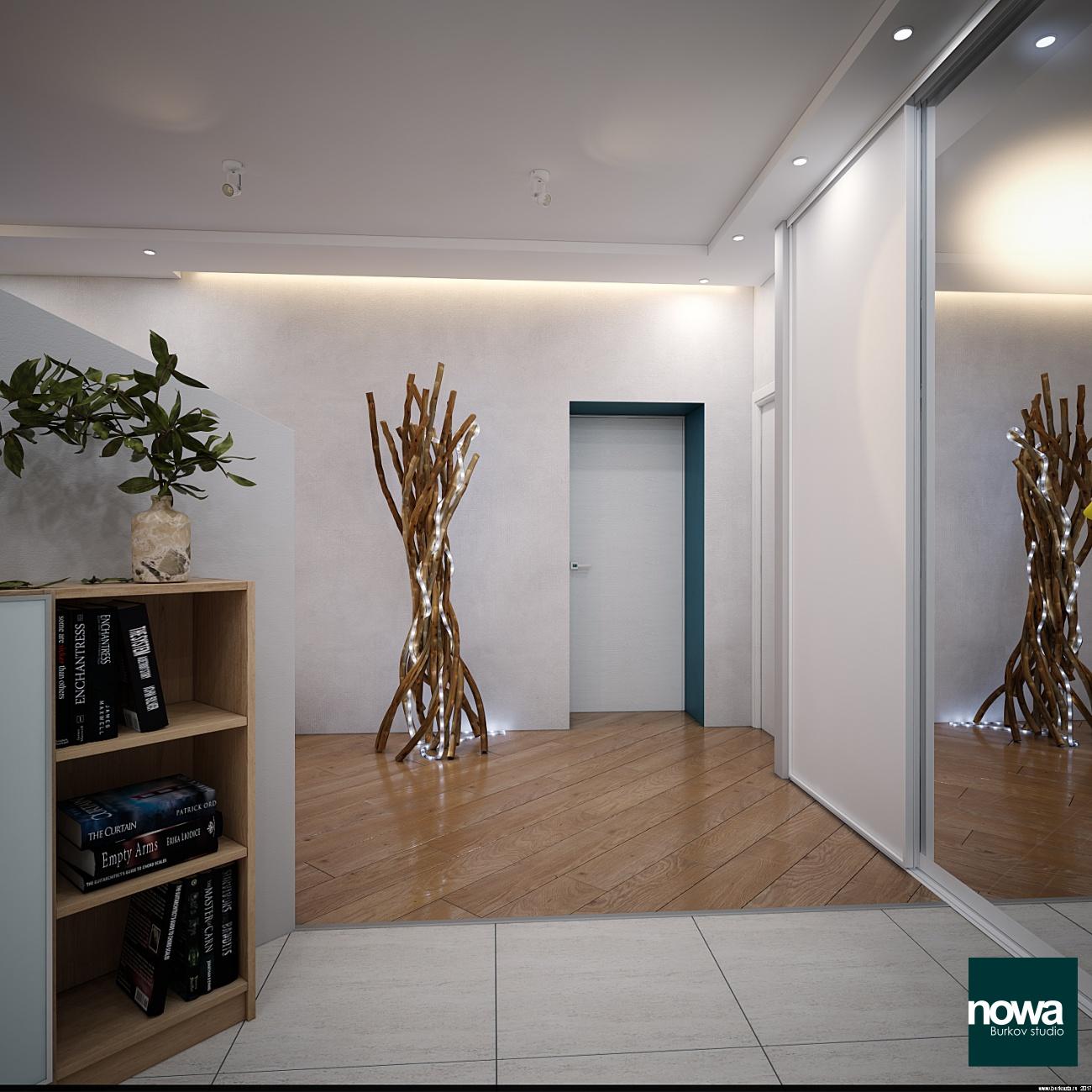 вид со входа в квартиру