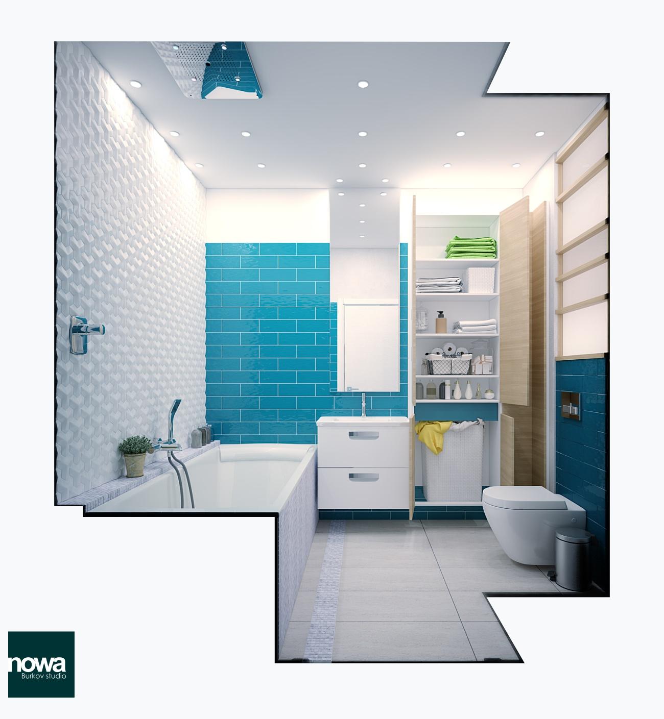 интерьер ванной плитка FAP Manhetten