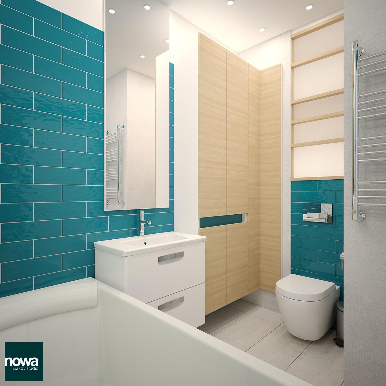 шкаф с отделом для грязного белья для ванной